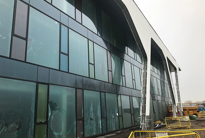 Lancashire Police Station | DB Curtain Walling Project